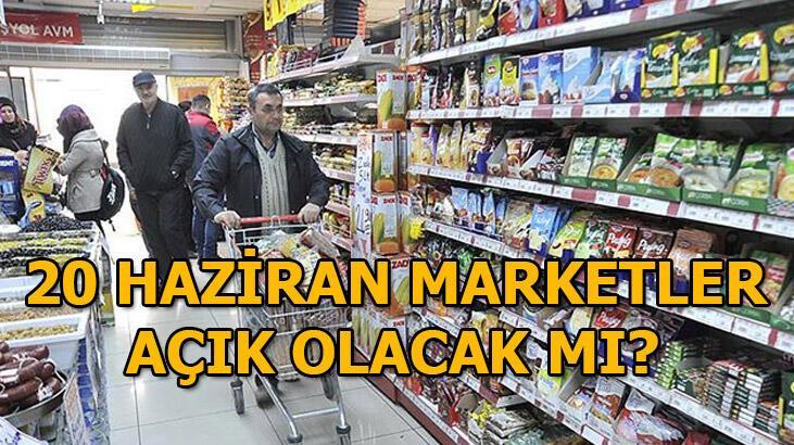 Marketler ve bakkallar bugün açık mı? BİM, A101, ŞOK, Migros, Carrefour bugün açık mı?