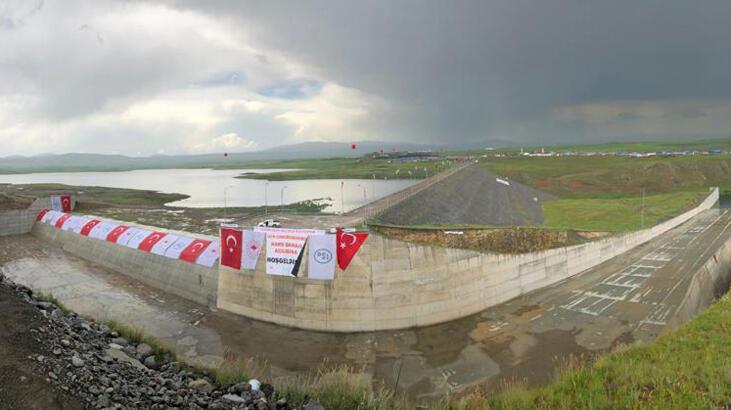 Tarıma can suyu olacak 'Kars Barajı' açıldı