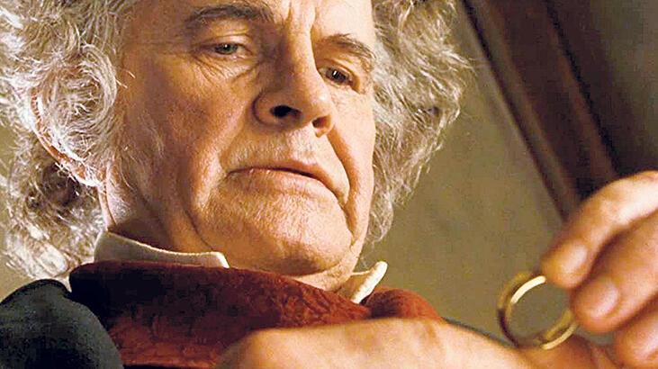 'Yüzüklerin Efendisi'nin Bilbo'suna veda