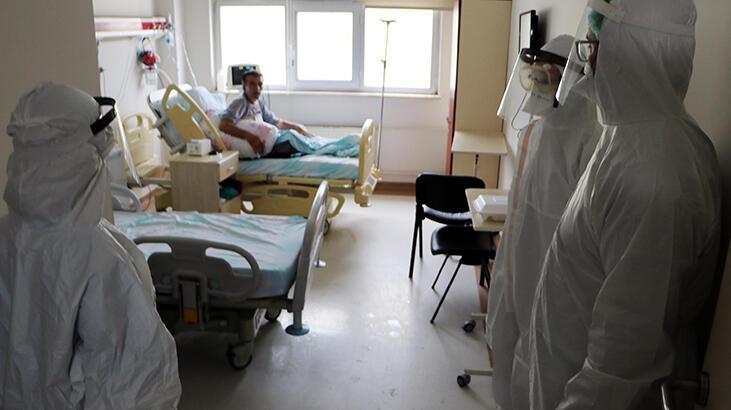 Corona virüs savaşçılarının hastanede mücadelesi