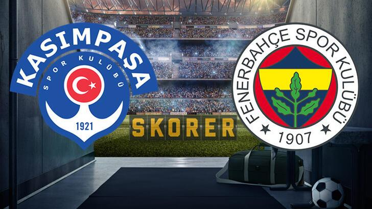 Son dakika | Kasımpaşa-Fenerbahçe maçında 11'ler belli oldu