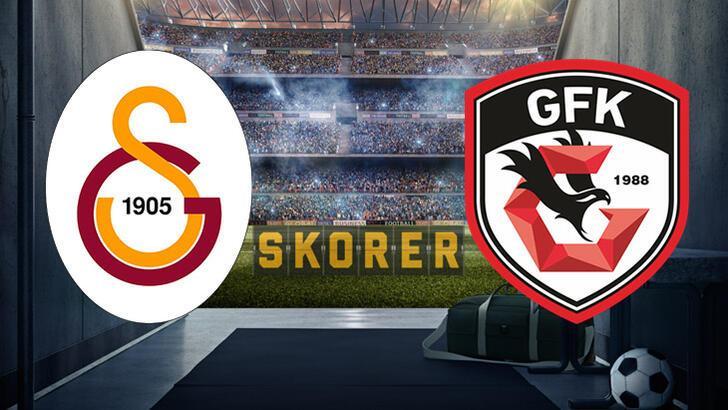 Galatasaray-Gaziantep FK maçı saat kaçta başlayacak, hangi kanalda yayınlanacak? İşte muhtemel 11'ler