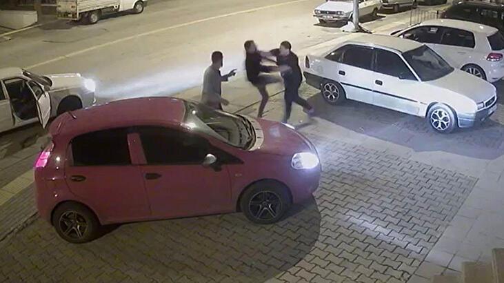 Yer: Ankara... 3 kişiyi 30 saniyede yere serdi