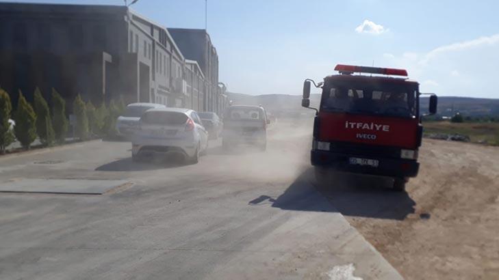 Son dakika...Gaziantep'te 3 günde iki fabrika yandı!