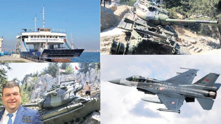 Bir gemi, iki tank, bir de uçak batacak, Seferihisar uçacak!