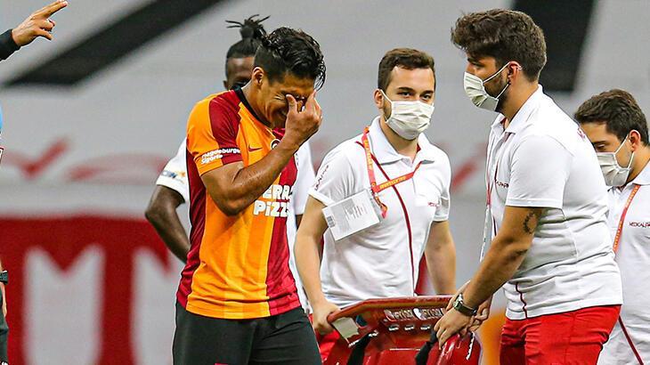 Galatasaray'da Falcao şoku! Başakşehir maçında...