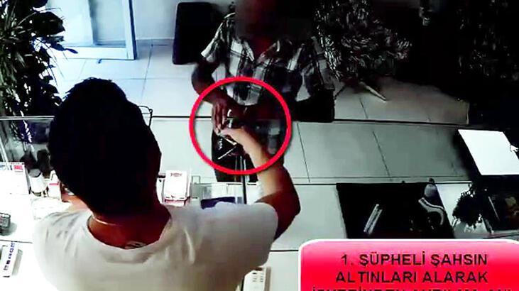 Kuyumcuyu sahte banka dekontu ile dolandırıcılığa tutuklama