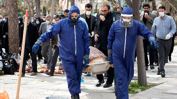İran'da 22 kişi cenaze töreninde corona virüse yakalandı