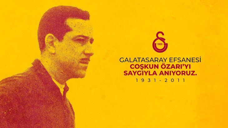Galatasaray Kulübü, Coşkun Özarı'yı andı