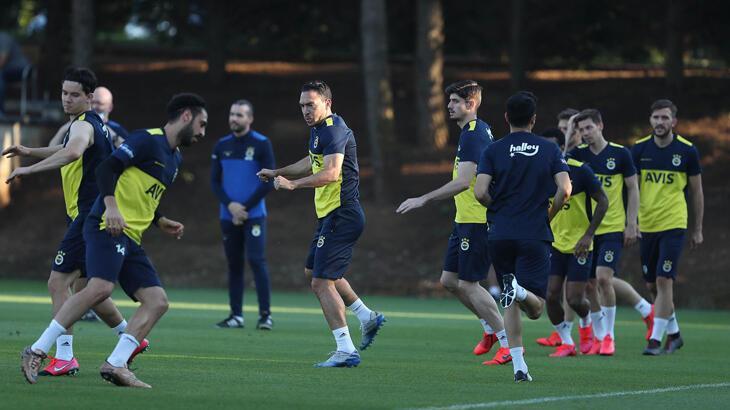 Fenerbahçe, Yeni Malatyaspor hazırlıklarına ara vermeden başladı