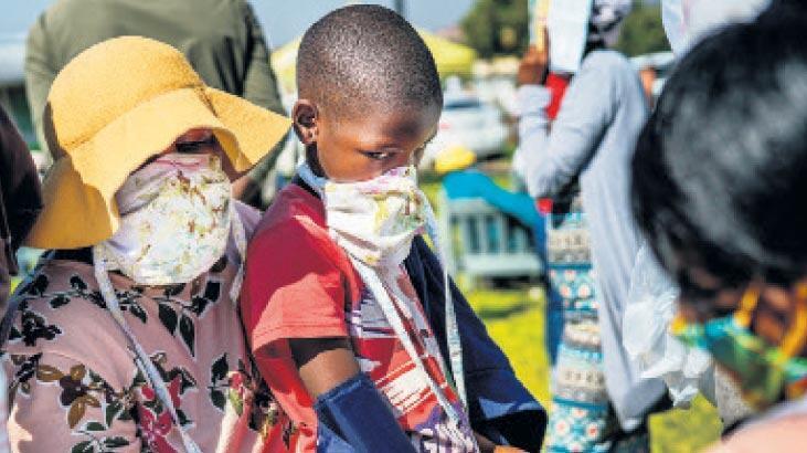 Güney Afrika'da corona virüs vaka sayısı 97 bini geçti