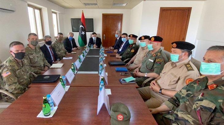 Son dakika haberi: Libya'da çok kritik görüşme! İşte paylaşılan görüntüler...