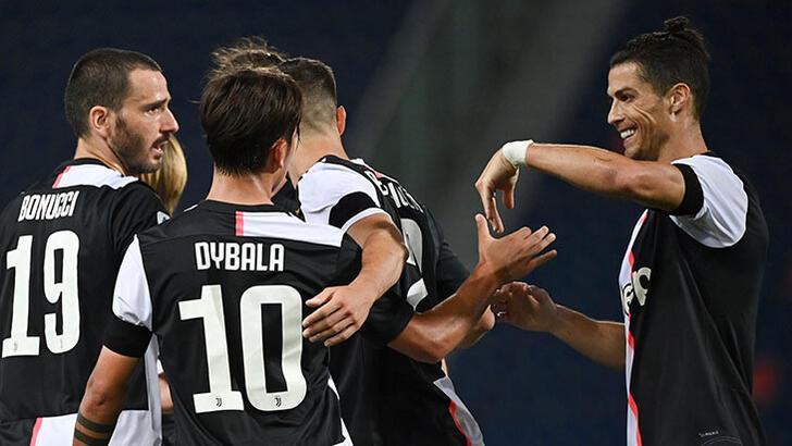 Lider Juventus 10 kişiyle kazandı!