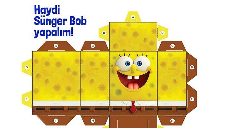 Haydi Sünger Bob yapalım!