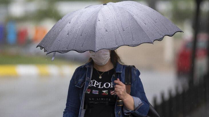 Hava durumu İstanbul'da bugün nasıl olacak? Meteoroloji'den kuvvetli sağanak uyarısı