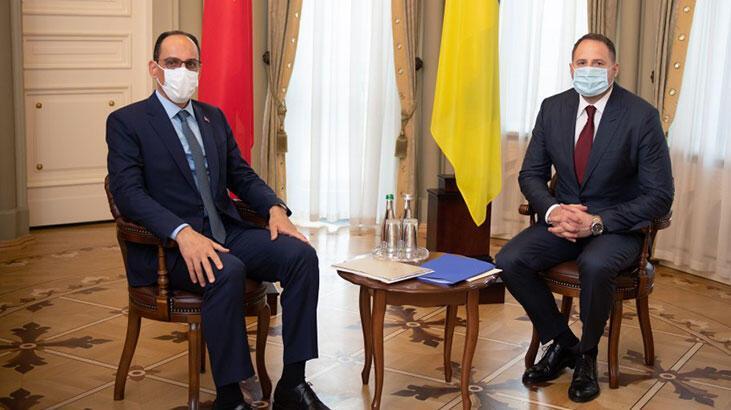 Cumhurbaşkanlığı Sözcüsü Kalın Ukrayna'da temaslarda bulundu