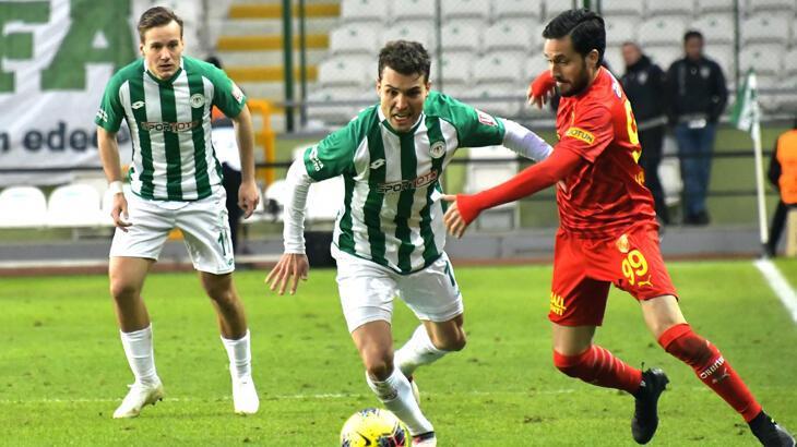 Konyaspor'da Guilherme 4 hafta sahalardan uzak kalacak