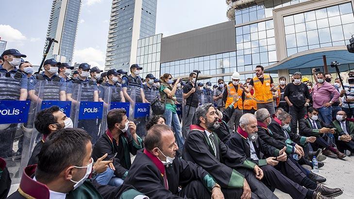 Son dakika! Ankara'da baro başkanlarının yürümesi için izin çıktı