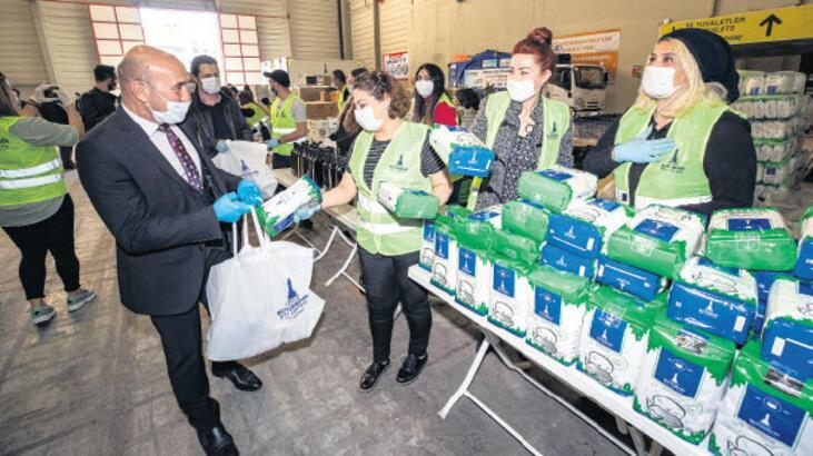 CHP İzmir, dayanışma gönüllülerini ağırlıyor