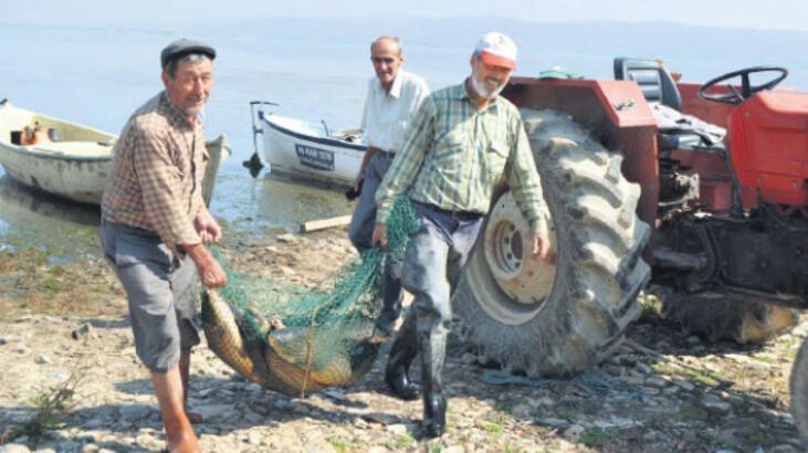 Denizi yok ama  geçimleri balıkçılık