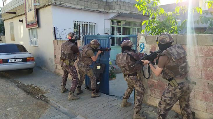 Adıyaman'da uyuşturucu operasyonunda 3 şüpheli yakalandı