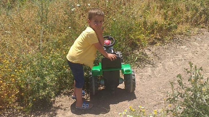 Elazığ'da kaybolan 4 yaşındaki Ömer, buğday tarlasında bulundu!