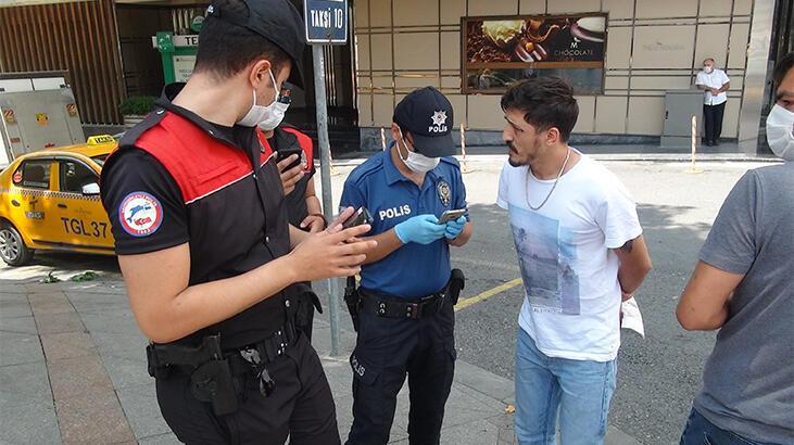"""Taksim'de polis ekiplerinden şok """"dar alan uygulaması"""""""