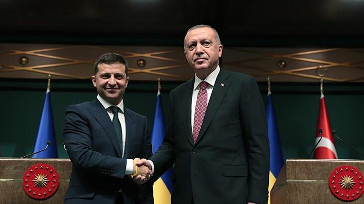 Son dakika... Cumhurbaşkanı Erdoğan, Ukrayna Cumhurbaşkanı Zelenskiy ile görüştü