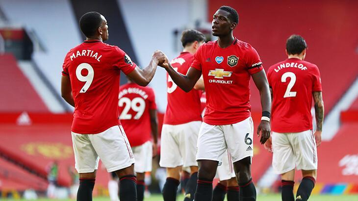 Manchester United, Martial'in hat-trick yaptığı gecede rahat kazandı