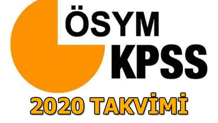 KPSS ortaöğretim, lisans, önlisans başvuruları ne zaman başlıyor, başvuru ücreti ne kadar? KPSS sınav tarihleri 2020