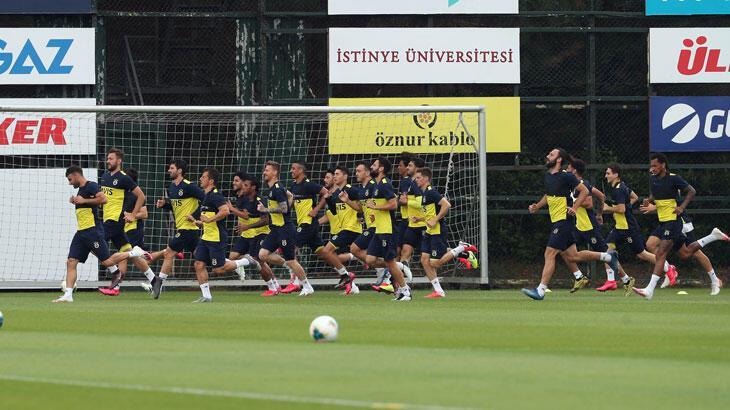 Fenerbahçe, Yeni Malatyaspor maçının hazırlıklarını sürdürdü