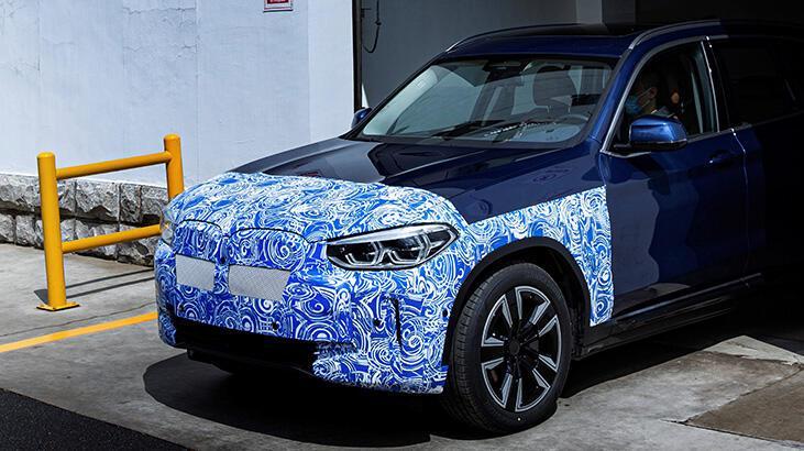 Yeni BMW iX3'ün son hazırlıkları tamamlandı!