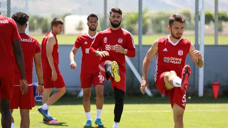 Sivasspor'da Kayserispor mesaisi