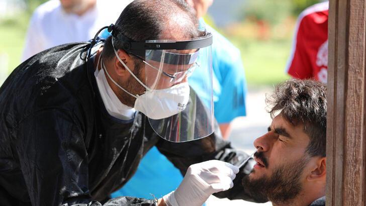 Sivasspor'a 7'nci kez korona virüs testi yapıldı