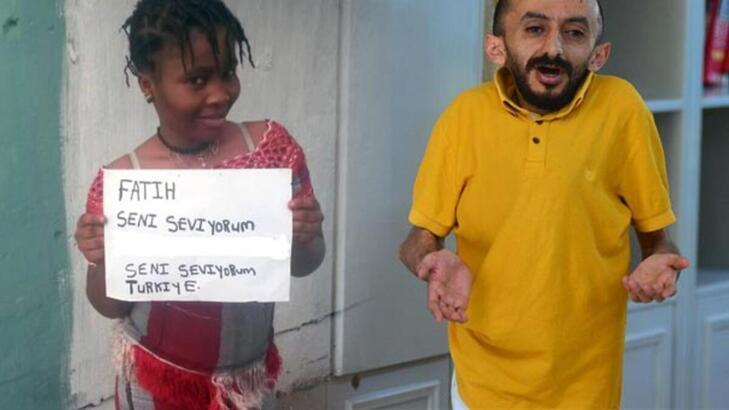 Engelli Fatih'in ailesi, acı haberin Liberyalı sevgilisine ulaştırılmasını istedi