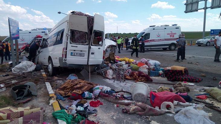 Son dakika... Konya'da peş peşe feci kazalar! 10 ölü ve yaralılar var...