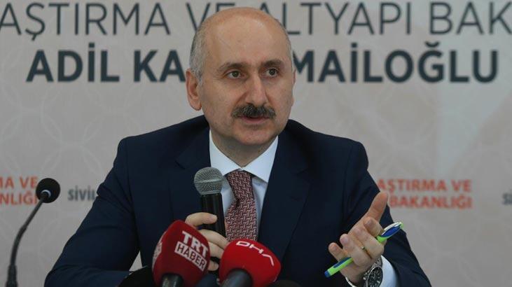 Bakan Karaismailoğlu Tokat'ta incelemelerde bulundu