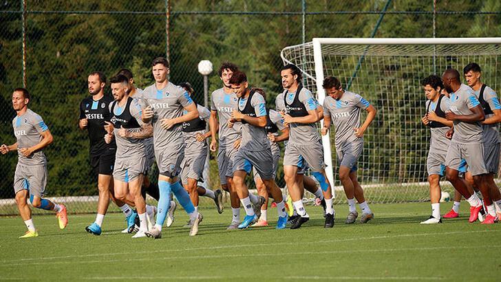 Trabzonspor, MKE Ankaragücü hazırlıklarını tamamladı!