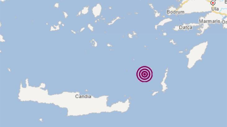 Son dakika.. Ege Denizi'nde korkutan deprem