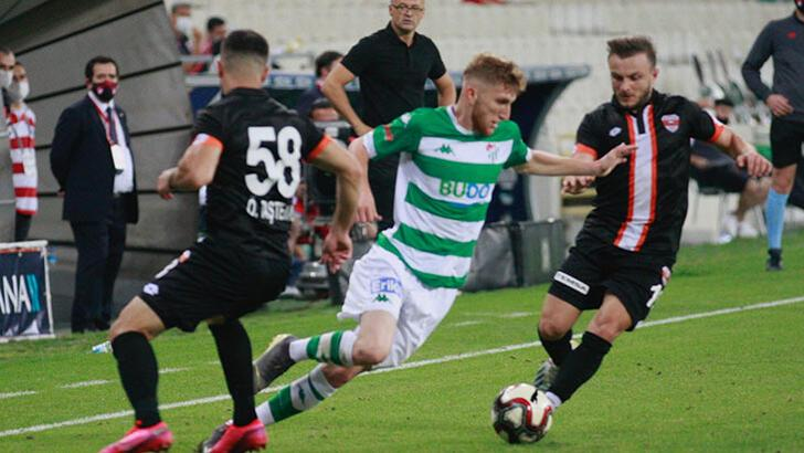 Bursaspor-Adanaspor: 1-0
