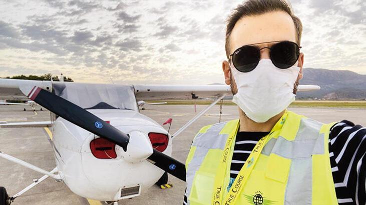 Ümit Erdim pilot oluyor!