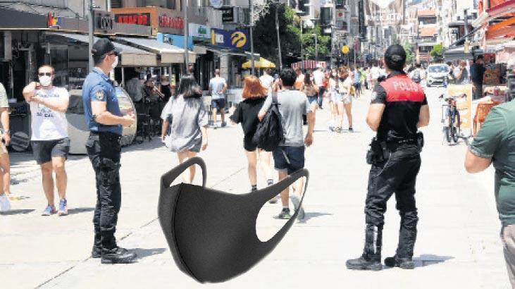 Maskesizlere önce uyarı, sonra ceza