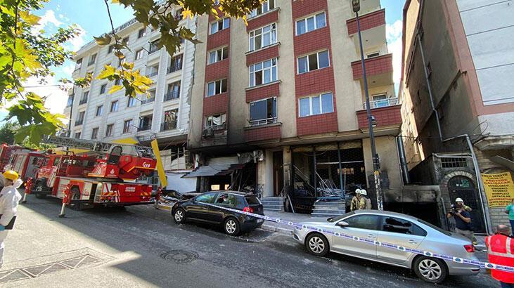 Bahçelievler'de patlamanın olduğu binada incelemeler sürüyor