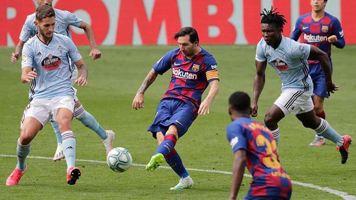 Okay Yokuşlu asist yaptı! Celta Vigo'dan Barcelona'ya son dakika şoku...