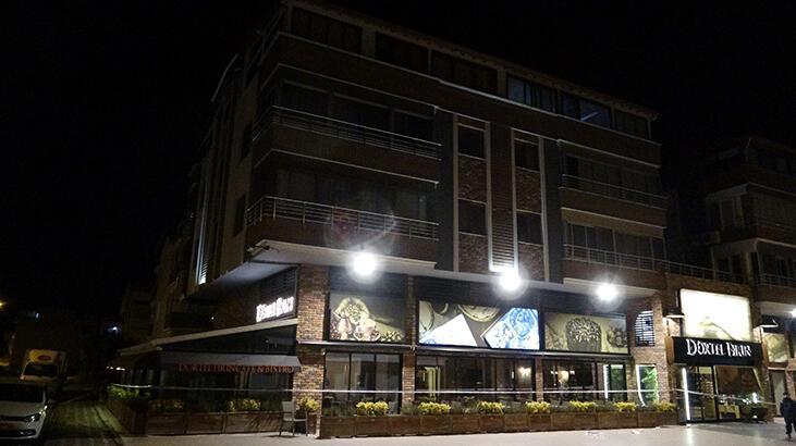 Balıkesir Altınkum'da iki bloklu apartmanda corona virüs karantinası