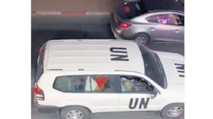 BM aracında skandal!