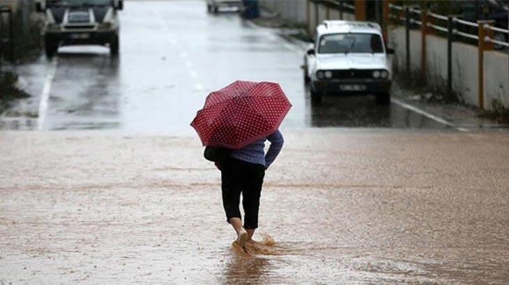 Son dakika: Meteorolojiden 5 il için gök gürültülü sağanak yağış uyarısı