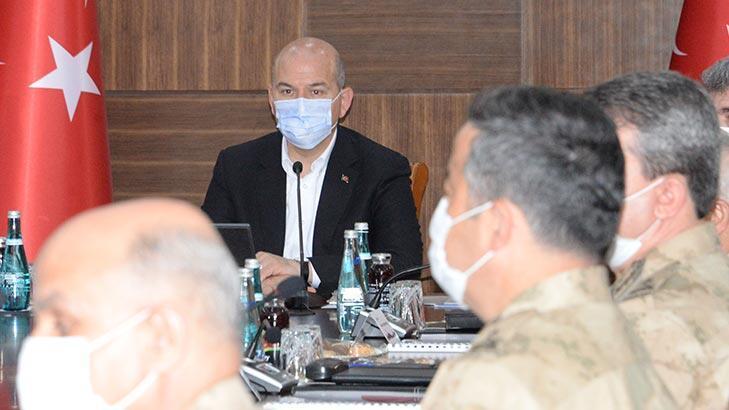 Diyarbakır'da, Bakan Soylu başkanlığında Güvenlik Toplantısı yapıldı!
