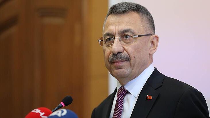 Cumhurbaşkanı Yardımcısı Oktay'dan şehit ailesine başsağlığı mesajı