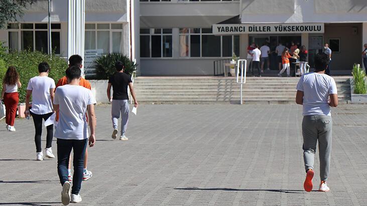 Edirne'de, YKS'nin ikinci oturumu heyecanı
